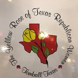 One of my favorite meetings: The Yellow Rose of Texas Republican Women celebrated their 10th anniversary in October. Fun fact: my mother and my mother-in-law wore yellow rose corsages in honor of our Texas roots at my wedding in Santa Fe, New Mexico almost 10 years ago!