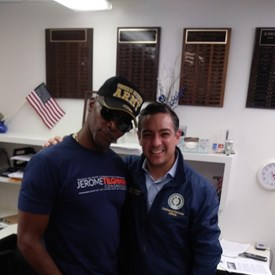 Jerome with Texas House Member César J. Blanco represents District 76 in El Paso.