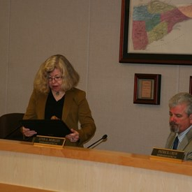 Lynn is elected chair of the Board of Supervisors January 9.