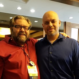 With Kerry McKennon, 2018 Libertarian candidate for Lieutenant Governor.