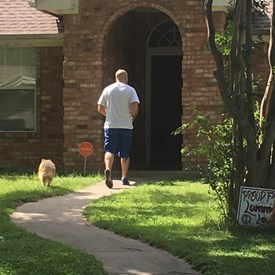 Knocking on doors and talking to people about freedom from government regulations.