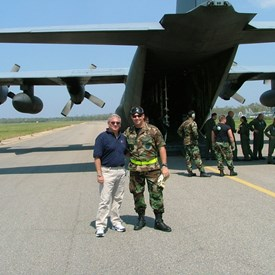 US Naval Air Station New Orleans, Working and providing Relief operations during Hurricane Katrina.