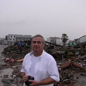 My Boots on the ground in Banda Aceh, Indonesia after the Indian Ocean Tsunami. Working with our Gov't and Indonesia's Gov't