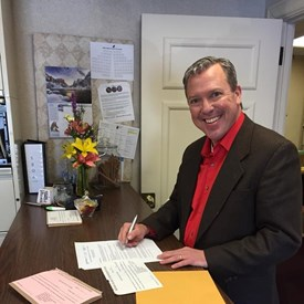 It's OFFICIAL! Today I filed for candidacy in Indianapolis, Indiana. This means that moving forward we're going to work HARDER, and more COLLABORATIVELY to make sure Floyd County, Indiana's community is a priority.
