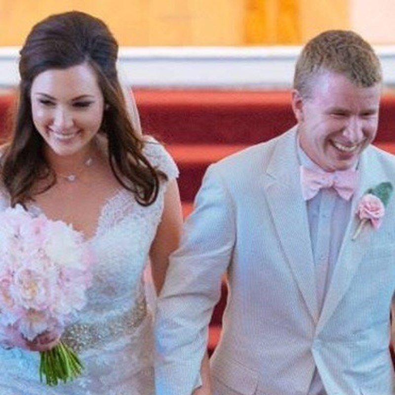 My daughter and son-in-law, Rebecca and Brandon Howell, who work in Washington, DC.