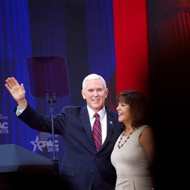 Vice President Pence and Second Lady Karen Pence