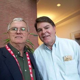 Ran into Gregg Jarrett of Fox News in the Food Court.
