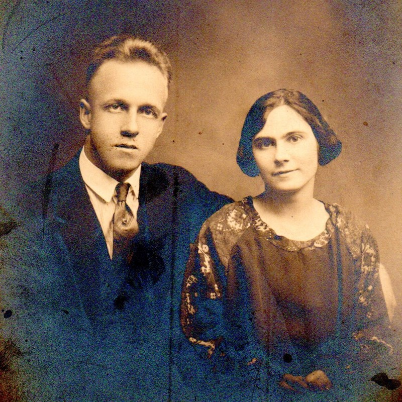 Clarence & Isobel Callahan. Around 1923.