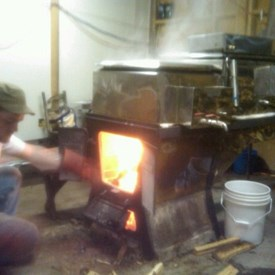 Making Maple Syrup at Maple Creek Farm