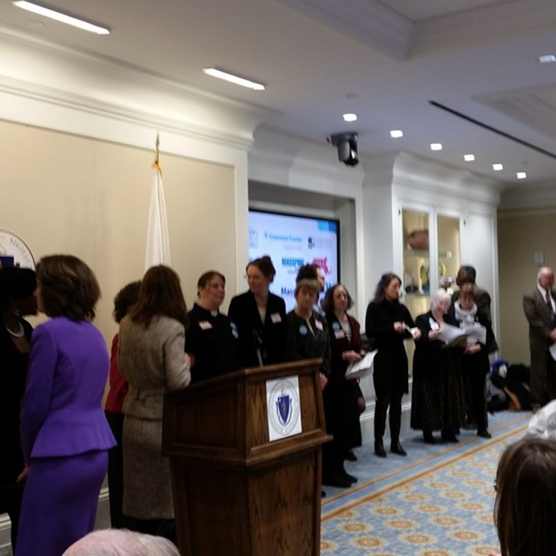 Automatic Voter Registration Lobby Day at the State House