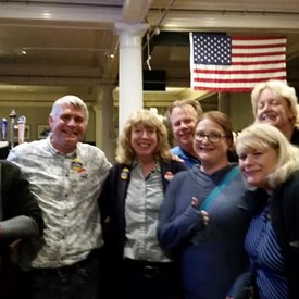 Thank you to our voters!! On to November!!
