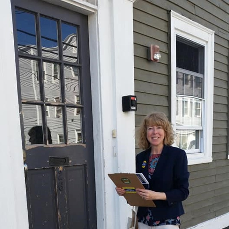 So enjoy door knocking and connecting with our awesome Salem community members!
