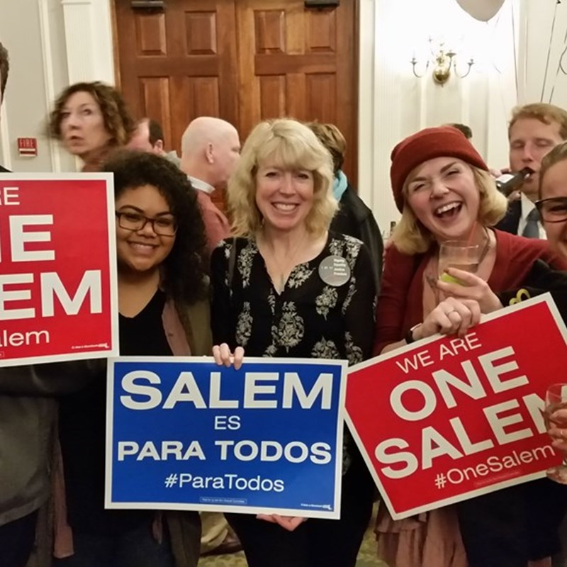 Celebrating Salem's 'Yes on One'!
