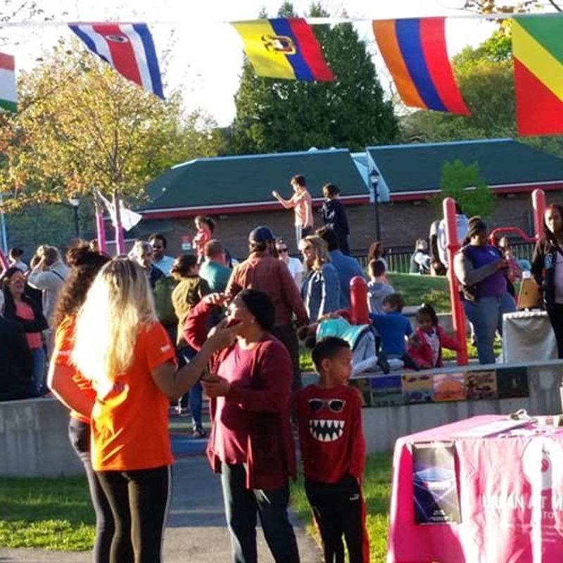 Great time at the IM MIGRATION Picnic in the Park and art installation celebrating the diversity and history of The Point neighborhood! 5/11/19