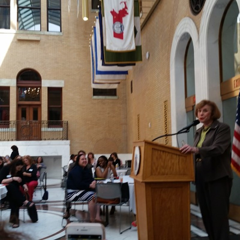 MA Commission on the Status of Women 2018 Women's Advocacy Day on 5/16/18