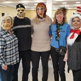 So much fun today at the Jean A Levesque Community Life Center Halloween party!