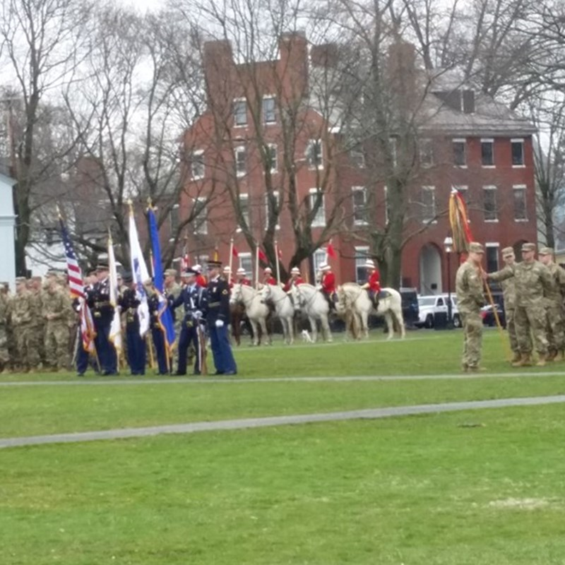 The 382nd Anniversary of the First Muster in Salem, the birthplace of the National Guard!