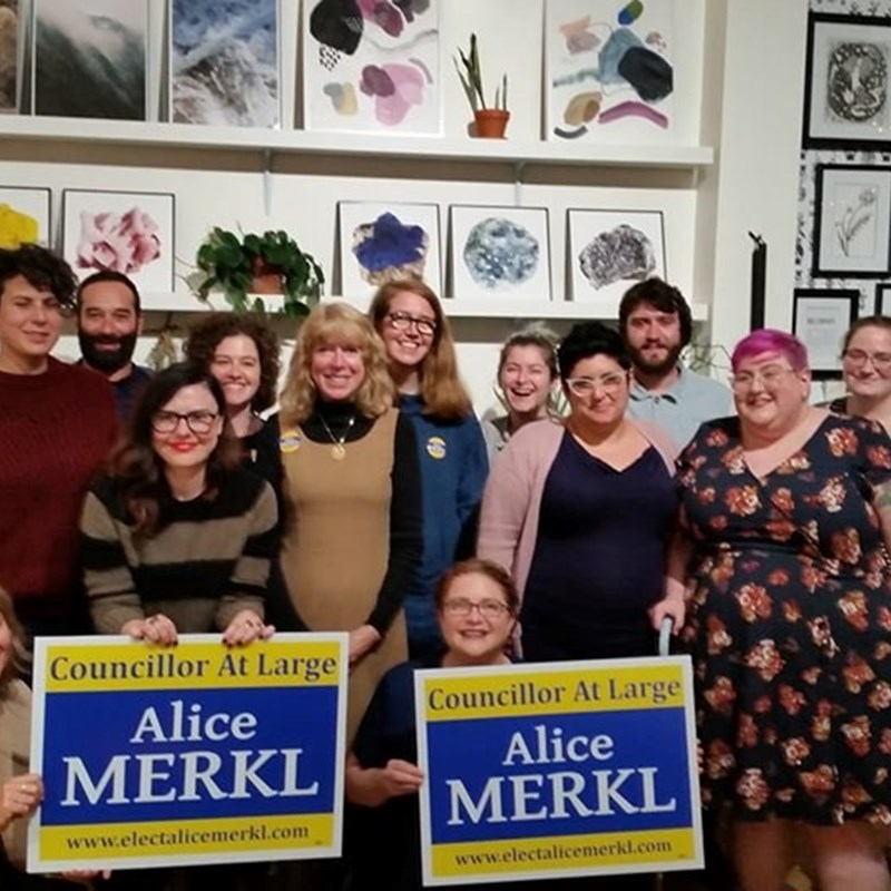 Thank you to everyone who came to our Millennials for Merkl event tonight at HausWitch! Appreciated your questions and engaging conversations. Witch the Vote