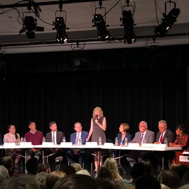 A big thank you to the League of Women Voters - Salem, the Latino Leadership Coalition and the Salem Gazette for hosting the Councillor at Large Candidate Forum last night at the Salem Academy Charter School. And thank you to Rep. Lori Ehrlich for doing such a wonderful job as moderator. We had great questions, and I appreciated the opportunity you gave the voters to get to know all of us candidates. The video recorded by Salem Access Television is available online; find the link on our home page!