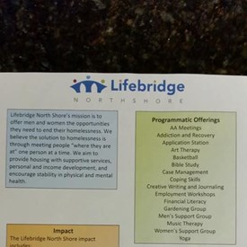 Thank you to the executive director of Lifebridge for meeting with me today and educating me on the great work they do (see photo), and giving me a tour of their new drop in day center.
