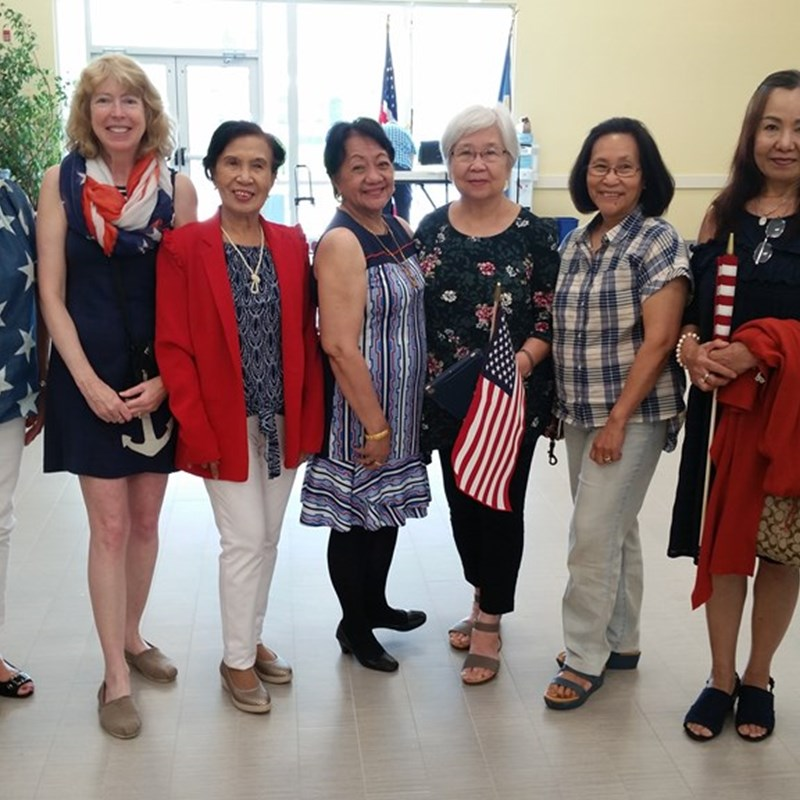 The Community Life Center celebrates the 4th of July!
