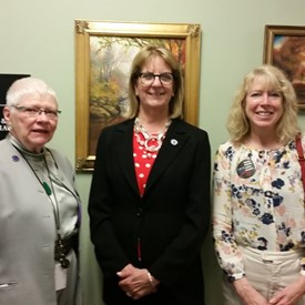 MA Commission on the Status of Women 2018 Women's Advocacy Day with Senator Joan Lovely on 5/16/18