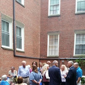 A big thank you to Dick and Diane Pabich for hosting a delightful garden party meet and greet for me at their lovely Salem Inn. It was an absolute pleasure meeting and talking with your guests!