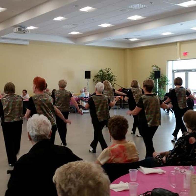 Volunteering for the Salem Council on Aging Mother's Day party at the Salem CLC on 5/8/19.  So much fun!