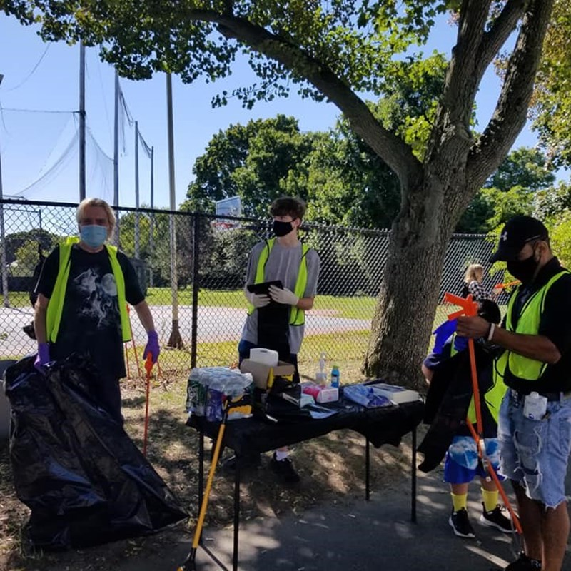 Another clean up in the Point organized by Ethan, a neighborhood resident.  Thanks Ethan!