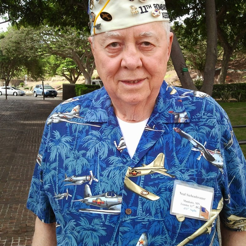 If you can get a veteran to talk-it is very special. Usually the trauma is so bad talking about it brings them back so most will not. Everyone has that family member that fought-but never knew what they did.https://obituaries.mankatofreepress.com/obituary/neal-siebenbruner-844036602