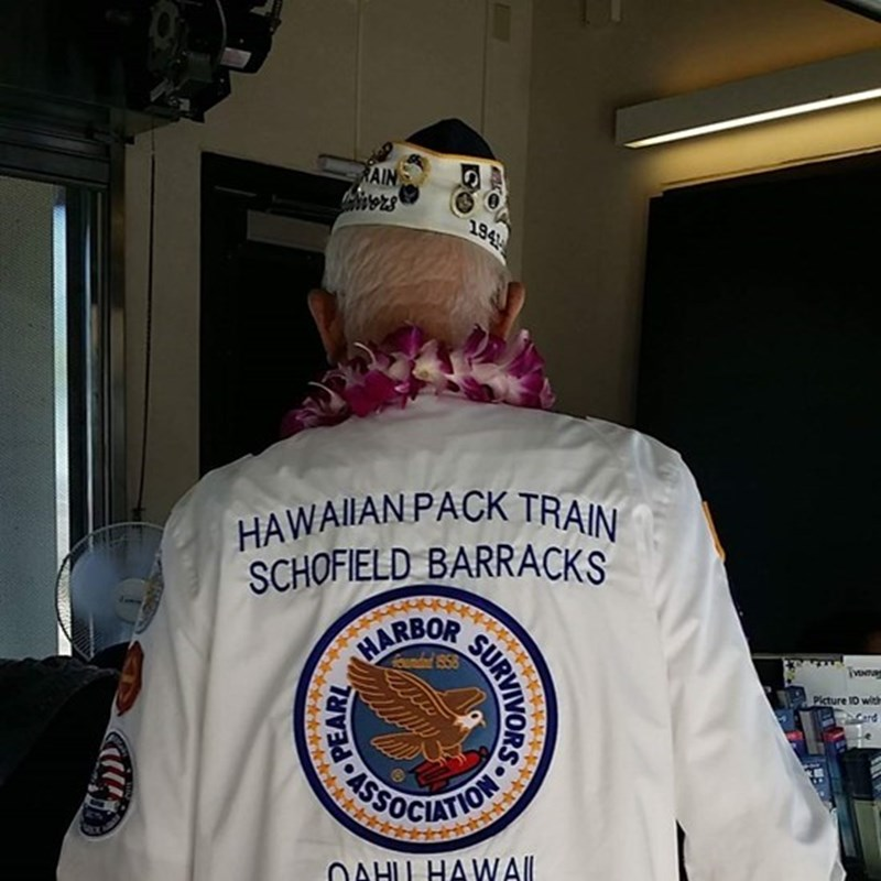 As the Pearl Harbor survivors  became infrequent, the ceremony opened up to all branches.