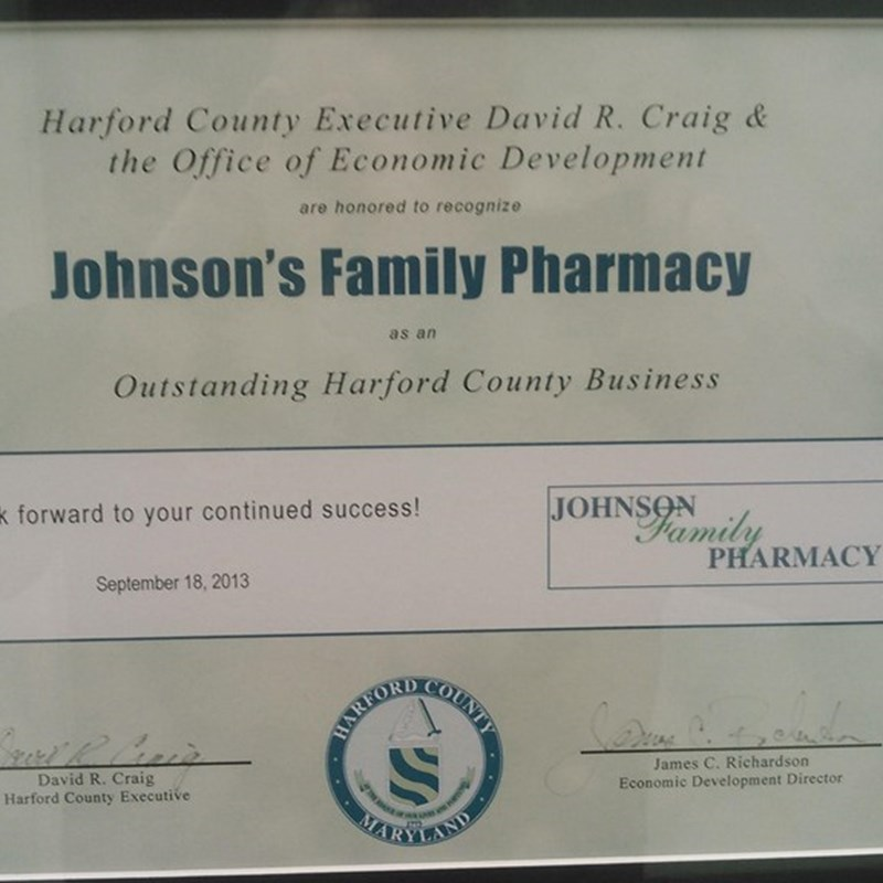 Outstanding Harford County Business