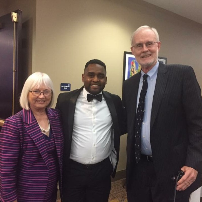 A night of Scholarship and Recognition at Bennett College with Chief Public Defender Fred Lind and NC A&T State University Professor Mary Lind