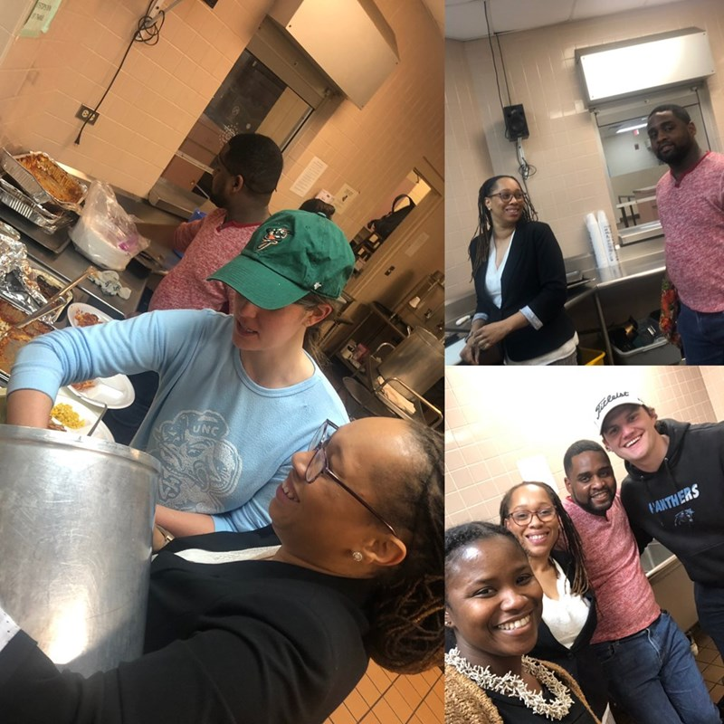 Serving the residents and members of the community at The Greensboro Urban Ministry.