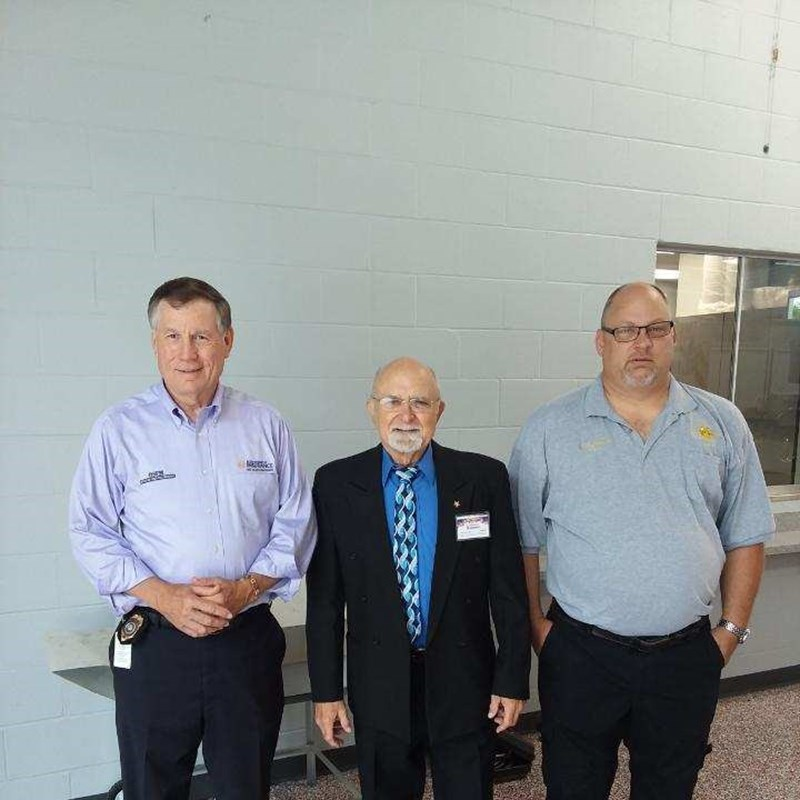 Left to Right: Mike Causey, Claiborne Holtzman, Teddy Stamatis