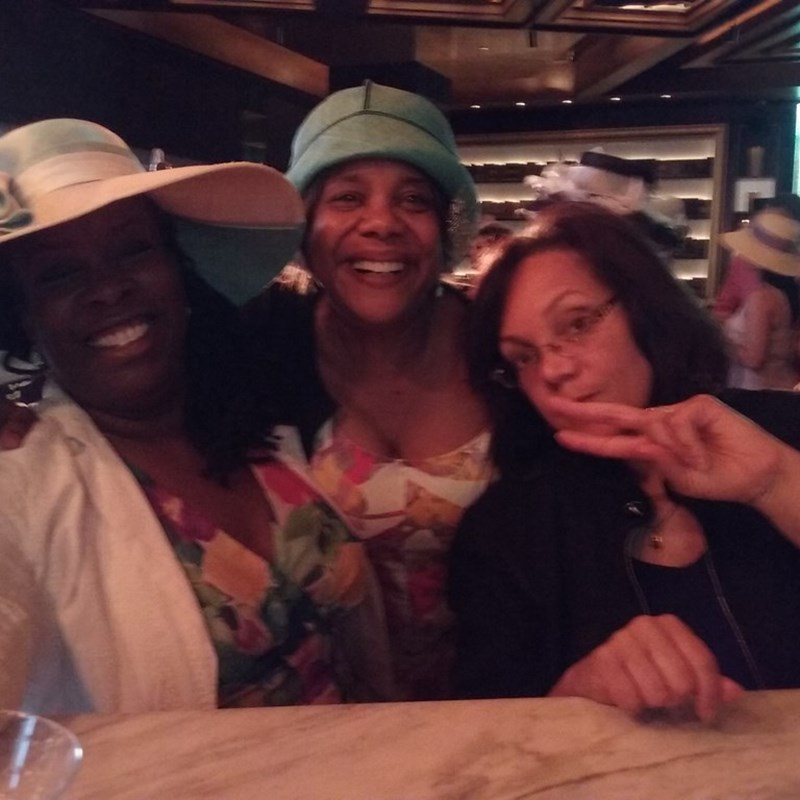 Diedra with Metropolitan DC Links Inc. - Kentucky Derby Party at the MGM in Oxon Hill, MD.