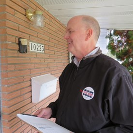 I enjoy meeting the people of the 6th district - it is one of the pleasures of running for office.