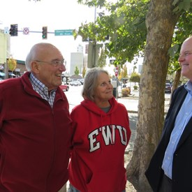 Tom Trulove, Cheney City Council Woman Teresa Overhauser and Dave Wilson.