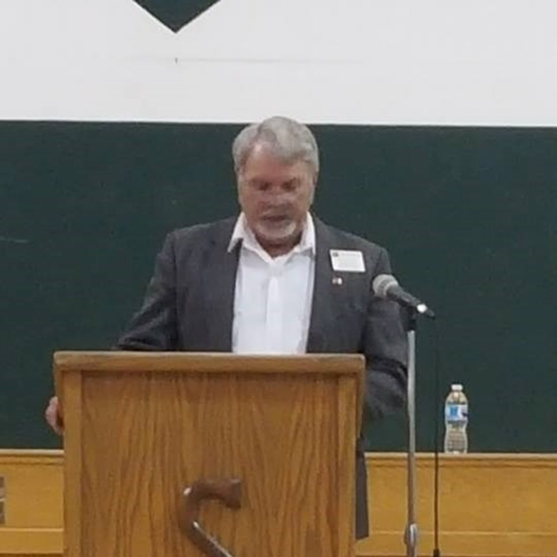 Speaking at the Kit Carson County Assembly 2018