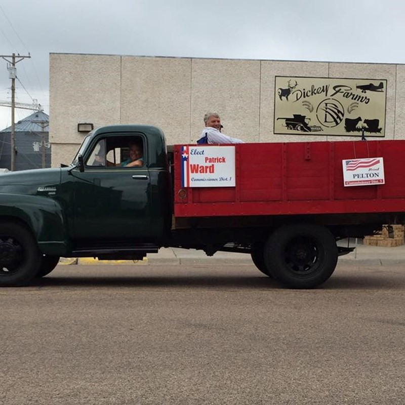 Cheyenne County Fair Parade in the old '51 Chevy Truck