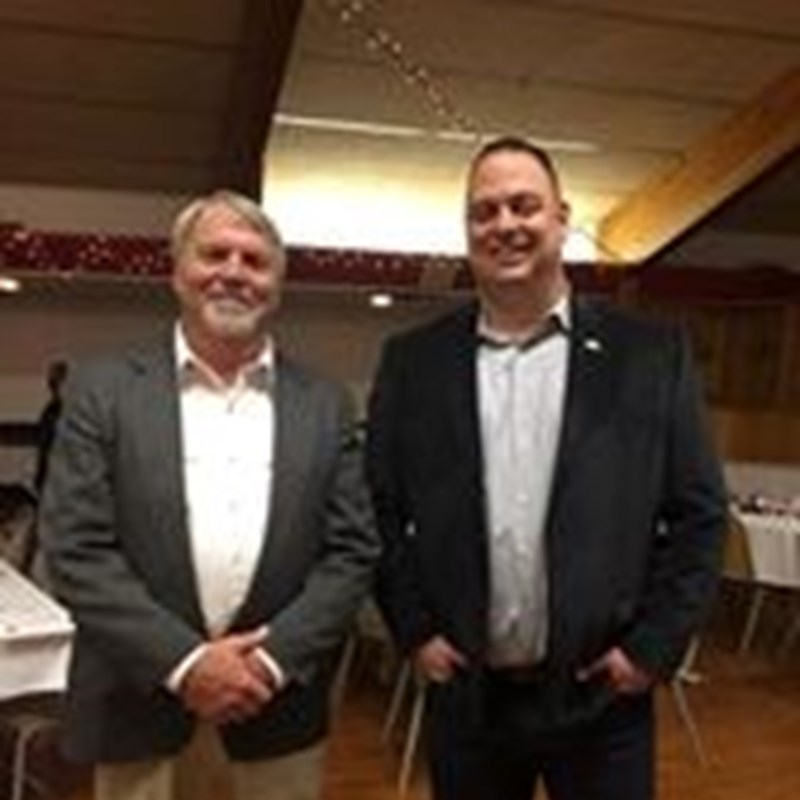 Logan County Lincoln Day Dinner with Logan County Commissioner of the Year Byron Pelton, February 22, 2018