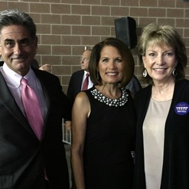 Tony, Michelle Bachman, and Ginny