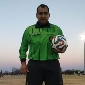 Refereeing soccer tournament