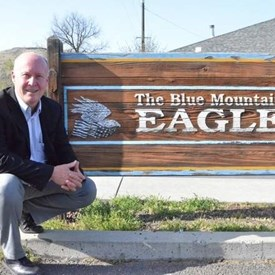 Visited the Blue Mountain Eagle