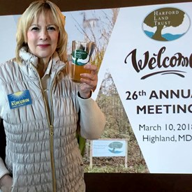 "Preserving Harford's rural beauty, that's what the Harford Land Trust's mission is and that's why I'm a member. We toasted the organization's past year's achievements at the 26th Annual Membership Meeting with an ale called ""Preservation, "" brewed especially for the occasion."