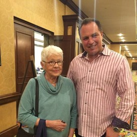 With Betty Degeneres at Time to Thrive