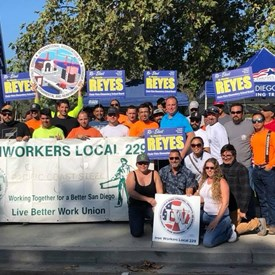 Ironworkers -  thank you for your support