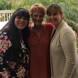 Chula Vista Educators Leadership.  President Susan Skala, Vice-President Rosi Martinez, PAC Chair Ruby Baker.  Thank you CVE for your support and endorsement.