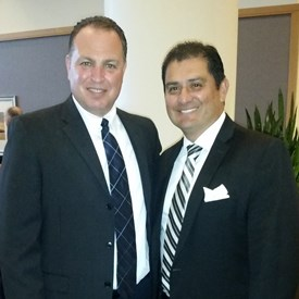 With California State Senator Ben Hueso.  Thank you for your support and endorsement