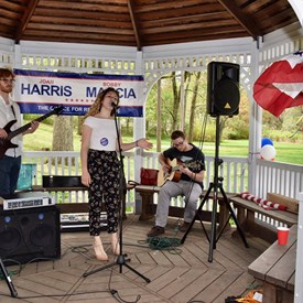 Music by Libby Kallins, Ray and Shane!